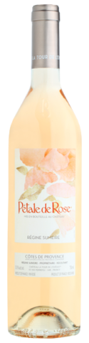 Vin rosé Petale de rose