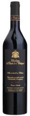 black win bottle with black label and gold letter of le noir et or, organic red wine from château la tour de l'evêque vineyard in Frence